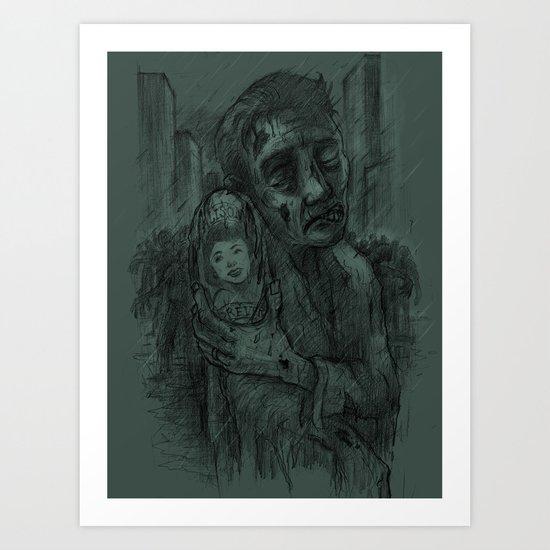 I Miss You Alison Art Print