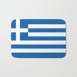 Flag of Greece, High Quality image Bath Mat