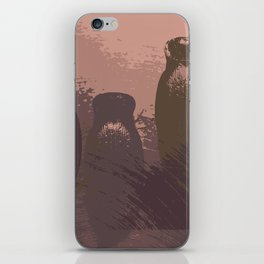 Empty shells iPhone Skin