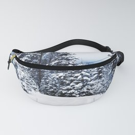 Snow Covered Trees Fanny Pack