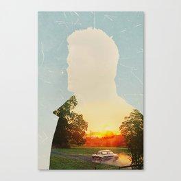 Dean Winchester Supernatural Impala  Canvas Print