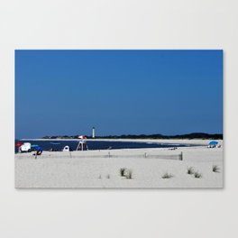 Summer, in spite of itself Canvas Print