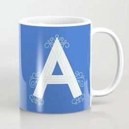 Monogram letter A Coffee Mug