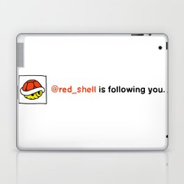 @red_shell is following you. Laptop & iPad Skin