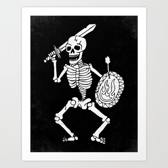 the dead cannot die Art Print