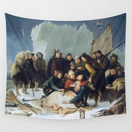 Christiaan Julius Lodewijk Portman - Death of Wiliam Barents Wall Tapestry