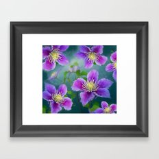 Fabulous flowers Framed Art Print