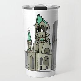Kaiser Wilhelm Memorial Church Travel Mug