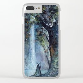 The Forest King Clear iPhone Case