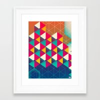 scales Framed Art Prints featuring Scales  by sixsixtysix