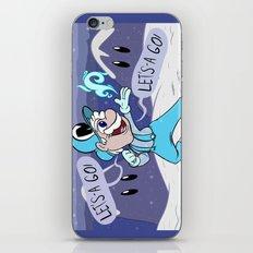Frozen Mario iPhone & iPod Skin