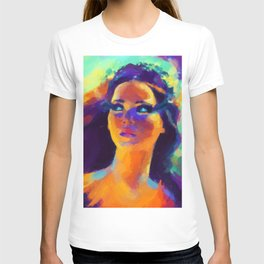 The Girl On Fire T-shirt