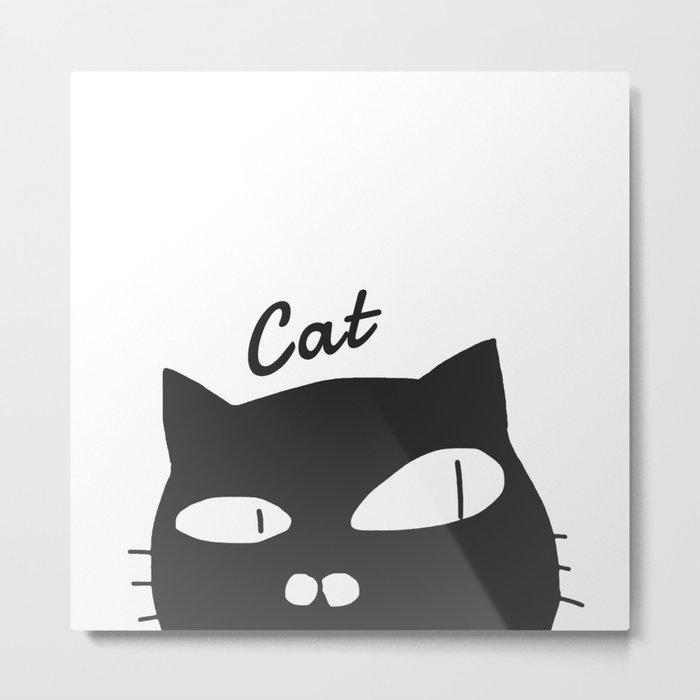 cat-154 Metal Print