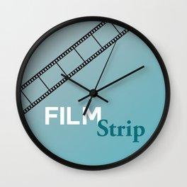 Film Strip Wall Clock