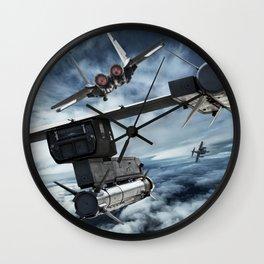 """""""Sayonara, baby"""" Wall Clock"""