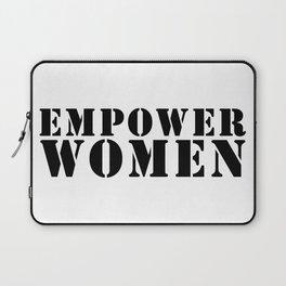 Empower women. Feminist, Women Empowerment, Rose Gold Rebel, feminist, feminism, workout gym Laptop Sleeve