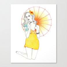 Pin-Up  Canvas Print