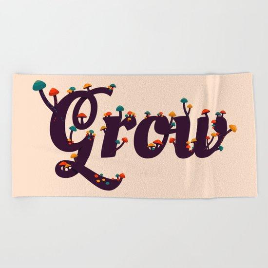 Grow Beach Towel