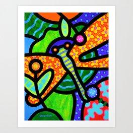 Watergarden Art Print