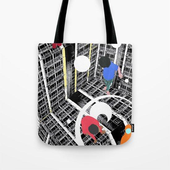 Convenient square Tote Bag