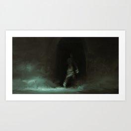 Dark portal Art Print