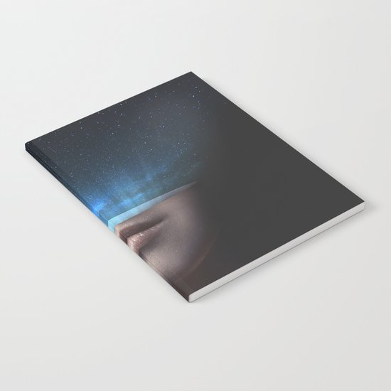 Universe in my mind #stars Notebook