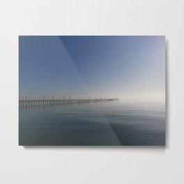 Sylvan Beach Pier, La Porte, Texas 1 Metal Print