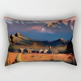 Evening glow of Takayama Rectangular Pillow