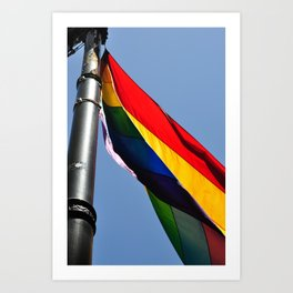 Pride Flag Art Print
