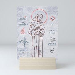 Saint Francis of Asis Mini Art Print