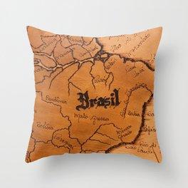 Brazil Expedition Throw Pillow