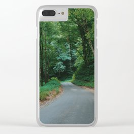 Forest route Clear iPhone Case