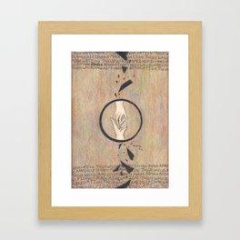 Abnegation. Framed Art Print