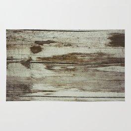 Off White wood Rug