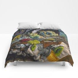 Monster ride. Comforters