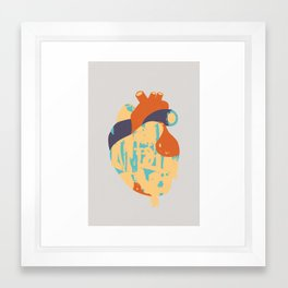 Heart:Released Framed Art Print