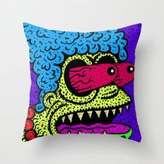 MARGE GRIMMSON.   (THE GRIMMSONS). Throw Pillow