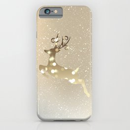 Run to Christmas iPhone Case