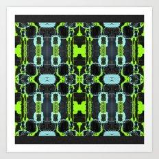 Cyber Mesh Art Print