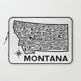 Montana Map Laptop Sleeve