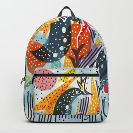 Sea Monster Birthday Party Backpack