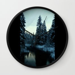 Link Creek Wall Clock