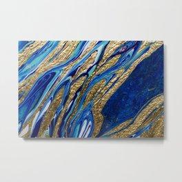 Acrylic Flow Art Metal Print