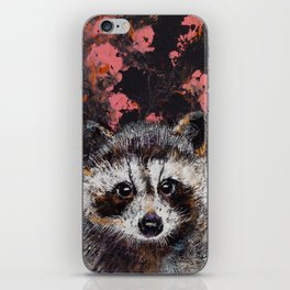 Baby Raccoon iPhone Skin