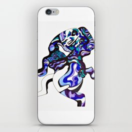 MOTHER IN ARMS iPhone Skin