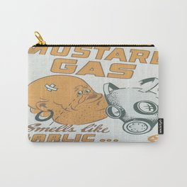 Vintage poster - Mustard Gas Carry-All Pouch