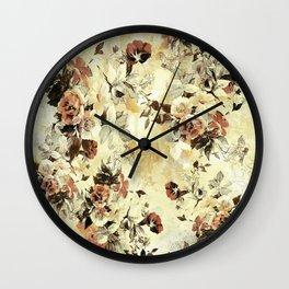 RPE FLORAL IV Wall Clock