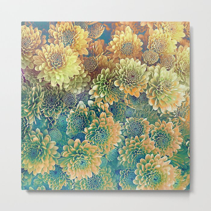 The Flower of Autumn Metal Print