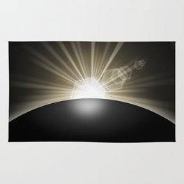Sunrise Sunset Planet Rug