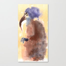 beak lady  Canvas Print